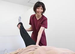 松山市・砥部町すこやか整骨院松山砥部院:腰痛の原因の施術写真